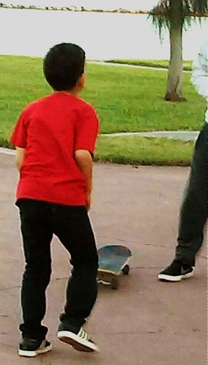 Skateboarding Learning By Doing Brothers Teaching His Little Brother Kids Are Awesome Kids Being Kids Showcase: January Open Edit Boys Being BoysCouldn't Resist Taking Photos Cellphone Photography Skateboard Kids Playing Beautiful Weather Bayfront Park Brothers <3 By The Bay 💙