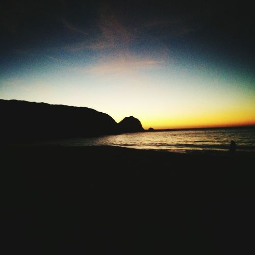 Beach El Canelo Litoral V Region Chile♥ Chilelindo  Sea Scenics Nature Sunset Beauty In Nature Tranquility Outdoors Travel Destinations Horizon Over Water No People Water Night Vacations litoral central de Chile, playa el Canelo