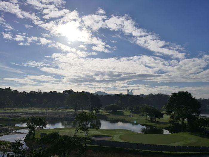 Morning Sky Golfcourse Maintaining Work In Progress Scenery Shots EyeEm Nature Lover