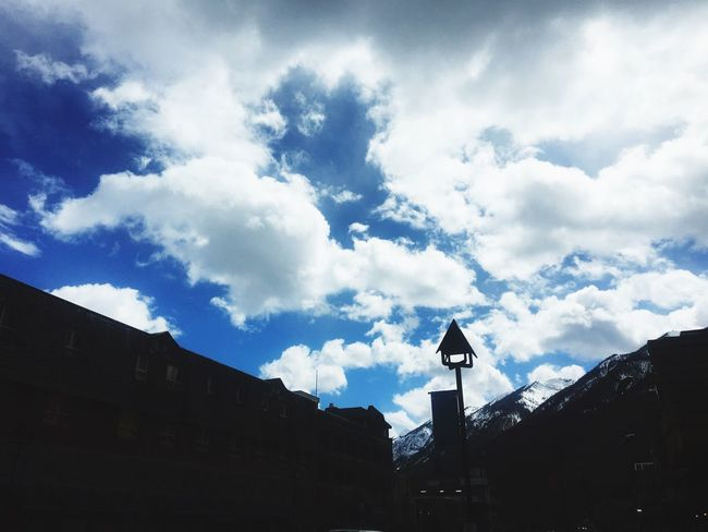 Banff Springs Hotel Sky And Clouds Sky