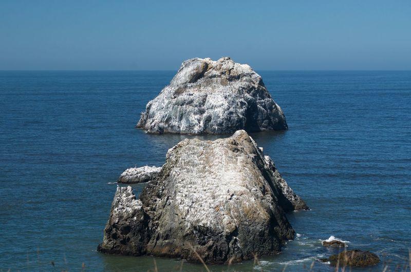 Two rocks in