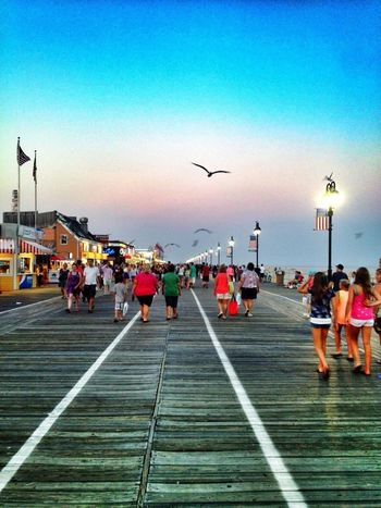 Boardwalk Summer Ocean City Nj