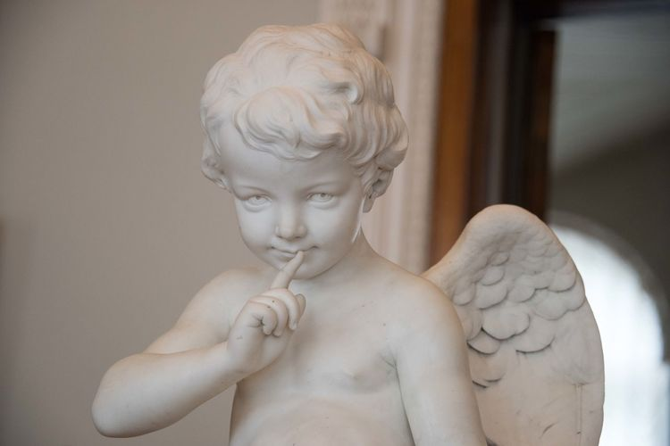 Art And Craft Representation Sculpture Creativity Statue Human Representation Indoors  Craft Male Likeness Focus On Foreground Childhood Angel Child Female Likeness Close-up Shirtless People Males  Museum Russia EyeEm Best Shots Angels Lovely Delicate Artcraft Statue