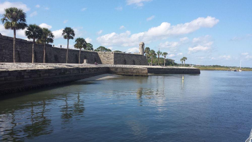 Built Structure Sky Waterfront Tourism No People St Augustine, FL