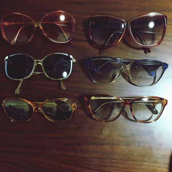 Sunglasses Vintage Balenciaga Christiandior Collector Pierrecardin Retro