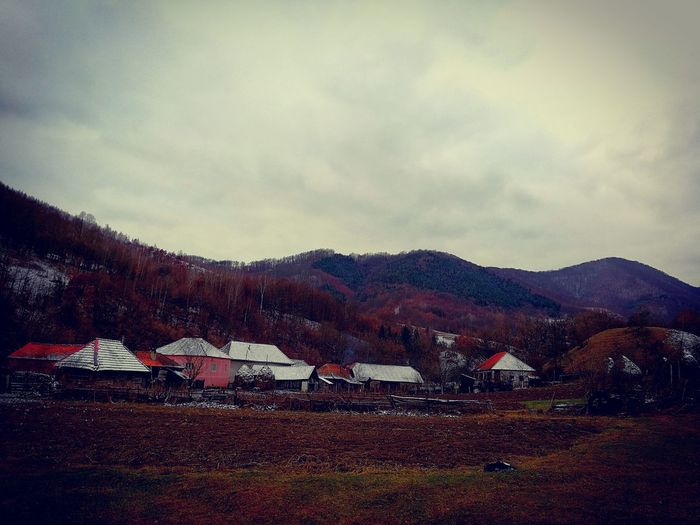 Ștei Village, Hațeg County, Hunedoara Countryside EyeEm Best Shots Forest Beautifulvillage HuaweiP10 Fog Foggy Day Foggy Weather Mountain Sky Nature Outdoors Scenics Beauty In Nature No People Landscape Day Shades Of Winter EyeEmNewHere House Tranquility Architecture Building Exterior Grass Scenery Built Structure An Eye For Travel