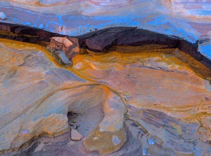 Grès jordanien Jordan Colours Artphoto Sandstone Color Pattern Pieces Fine Art Photography