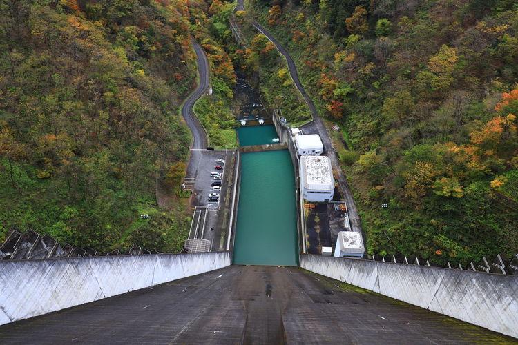Dam Hello World Tadaa Community No People Architecture Autumn Tranquility Scenics - Nature Japan Japan Photography 17.62°