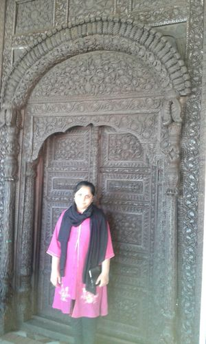 Antique Hand Made Wooden Door My Daughter Enjoying Life No Edits No Filters Eye4photography  Eyeem Best Shot I Love Fhotography