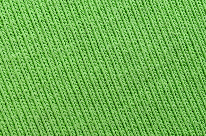 Full frame shot of green sweater
