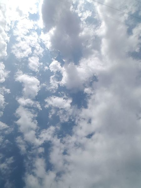 Wolken Backgrounds Blue Pattern Sky Close-up Cloud - Sky Sky Only Cumulus Heaven Cloudscape Abstract Backgrounds