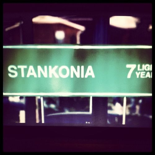 """Power music. Electric revival"" ... Stankonia is never far away ... Stankonia BombsOverBaghdad OutKast"
