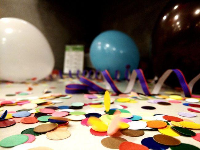 Confetti Multi Colored