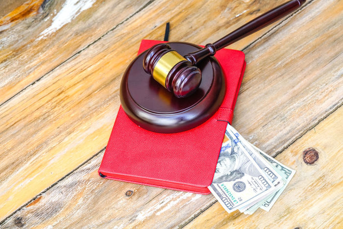 Auction Authority Court Decisions Guilt Lawyer Red Book Wood Book Close-up Corruption Earn Gavel Hammer Income Judge Judgement Justice Law Legal Legislation Mallet Table Verdict Wood - Material