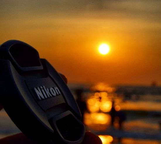 Nikon Lens Cap Iamnikon Nikon Lenscap Sunset Beach Instagram Instapicture Instagood