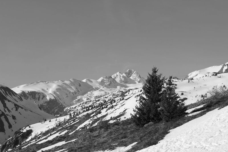 Alps Alpes Alps France Mountain Saint Sorlin D'Arves Black And White Black & White Snow Winter Tranquil Scene Beauty In Nature Landscape No People Nature France 🇫🇷 Tranquility Clear Sky