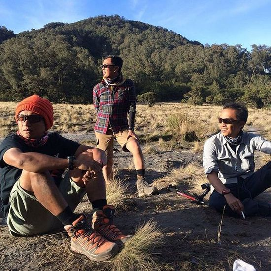 Repost sefo models club posed at Kali Mati, Semeru Sefo  2015  Hikingseason Semeru