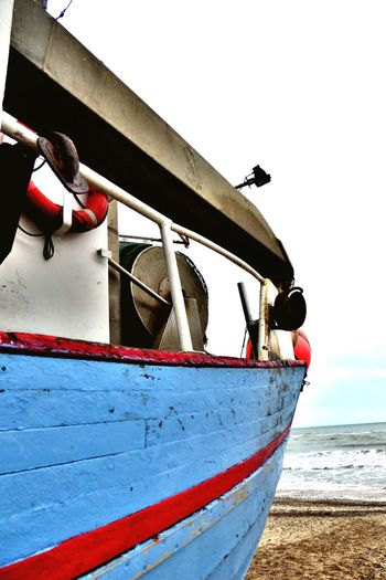 Denmark 🇩🇰🇩🇰🇩🇰 Nautical Vessel Sea Moored Mode Of Transport Transportation Water Boat Outdoors Day Buoy Life Belt No People Sky Fishing Boat Close-up Nature Torup Strand Cloudy Fine Art Old Fishing Boat Fine Art Photography Iron - Metal Beach Shore