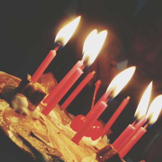 Cake Light Sister Birthday Birthday Cake