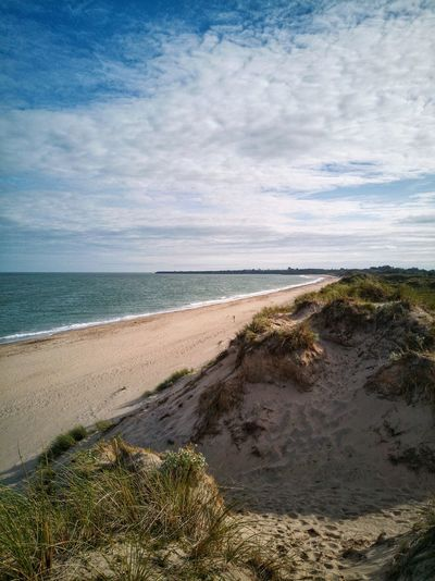 Irish summer's 🏝️🌞🌊 Brittas Bay Wicklow Ireland🍀 Beach Sea Sand Horizon Over Water Water Nature Tranquility Tranquil Scene Beauty In Nature Scenics Travel Destinations Cloud - Sky Outdoors Landscape Wave Sky Day ExploreEverything Huawei P10 Plus EyeEmNewHere 🌞 Summer ☀ 🌊🌊 ☀🌞 The Week On EyeEm Lost In The Landscape