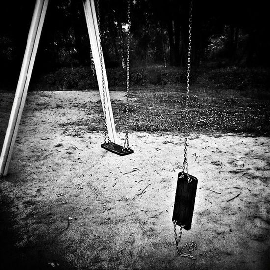 Broken swing. Swing Broken Chain Playgraund igerssilesia mobilnytydzien ourpoland loves_poland bestofpoland webstagram webstapic unopix_bnw bnw bnw_life bnw_zone bnw_europe bnw_life_invite bnw_captures loves_bnw blackandwhiteisworththefight ig_bw ig_beautifull topluxphotos
