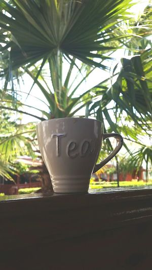 Start the day with a tea☕ 👈 this is a coffee emoji😂 lol Teabutcoffee LOL Myfavourite Paradise 😚