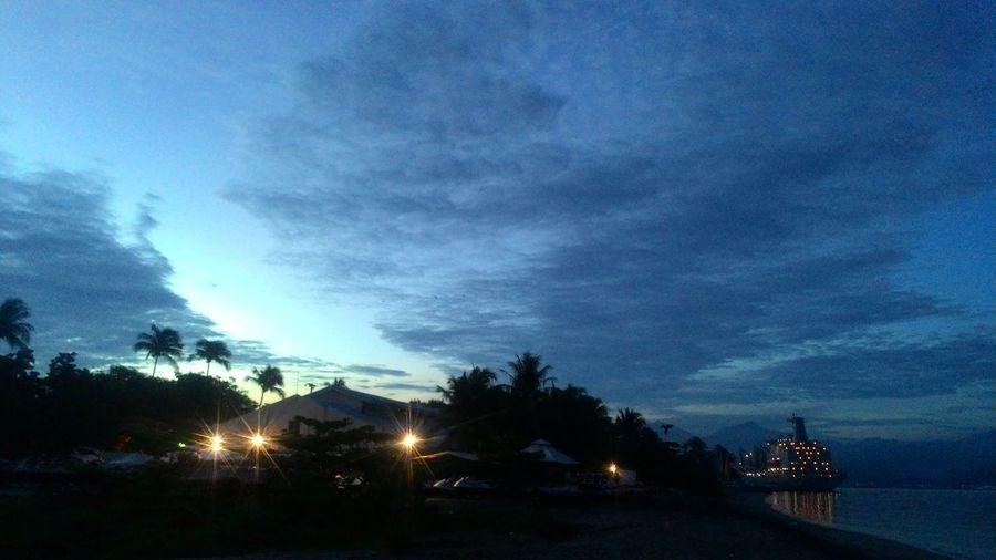 Night Sky Blue