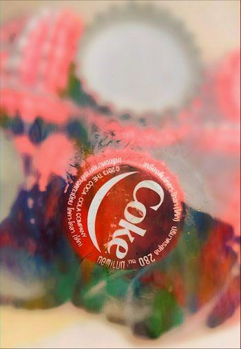 ฝาจีบ Coke Red Taking Photos Enjoying Life Huaweiphotography Colorful Thailand Thai Huawei P9 Plus Smlie