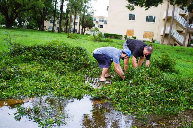 clearing the storm drain Outdoors Social Issues Hurricane Helping Hand Flood Flooding Storm Drain Floods Irma Hurricane Irma 2017 Nature Mother Nature Water Hurricane - Storm Hurricane Damage The Week On EyeEm This Is Masculinity The Photojournalist - 2018 EyeEm Awards The Street Photographer - 2018 EyeEm Awards