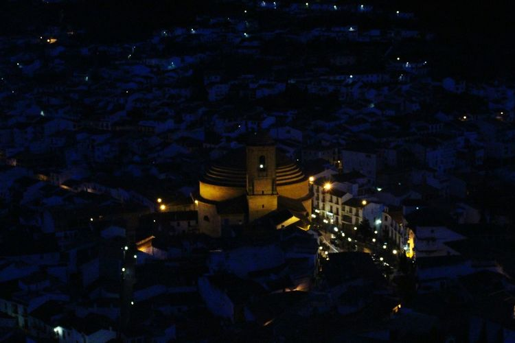 Night Sky City Star - Space Space And Astronomy Cityscape Illuminated Astronomy No People Outdoors Architecture Galaxy Montefrio Granada Town In Granada The Most Wonderful Town In Granada