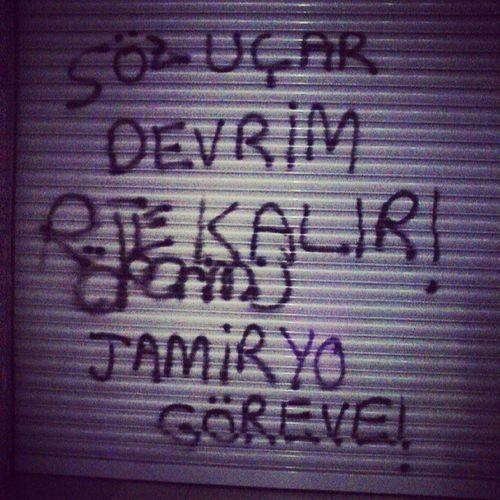 Çare Jamiryo Tunalihilmi Streetart Occupygezi