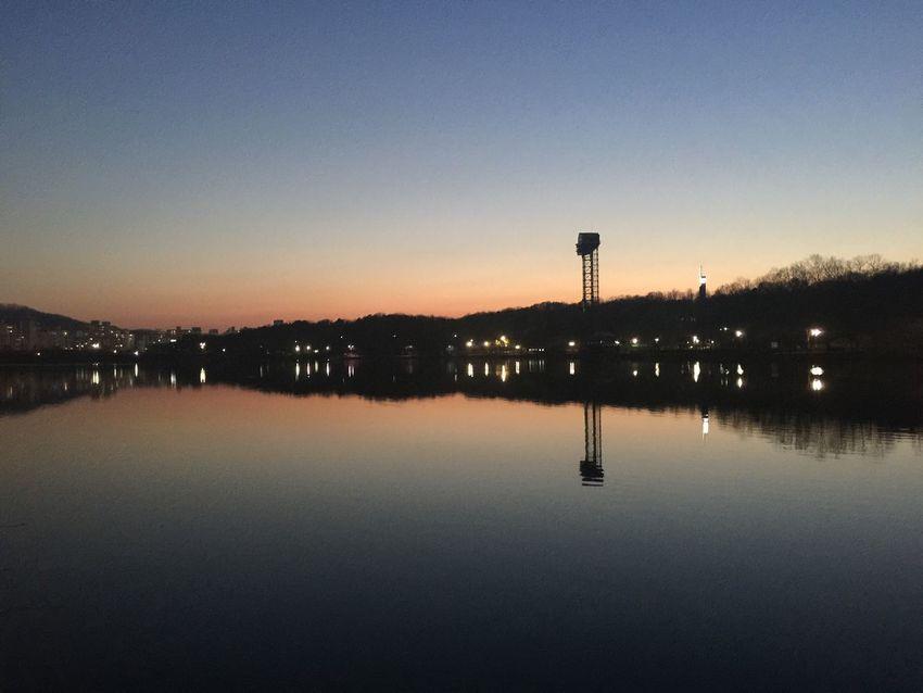Bundang Yuldong Park Sunset