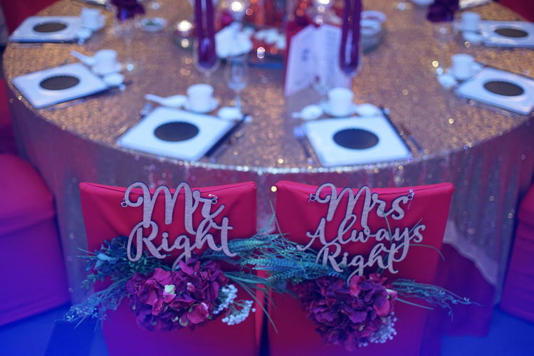 Chair Wedding Wedding Photography Celebration Chinese Wedding Christmas Decoration Close-up Day Decoration Gift High Angle View Indoors  No People Red Text