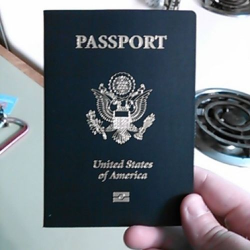 HOORAY! HOORAY! HOORAY! MY PASSPORT CAME TODAY! Soexcitedpanties Onestepclosertocanadavacation Mypictureissobad