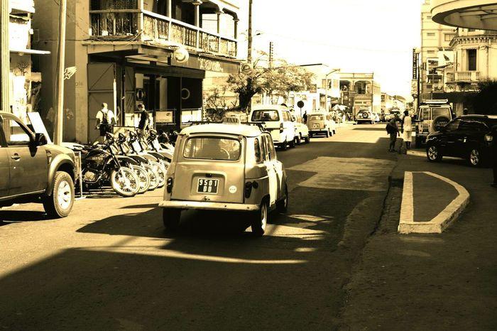 The Drive Renault 4 Renault4 Cuba Madagascar  Vintage Cars Vintage Car Land Vehicle Mode Of Transport Transportation Street Architecture City