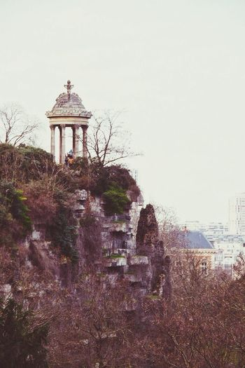 Little treasures of Paris, less tourism more exploring. City Cityscapes Grey Sky Grey Day Cold Days Winter Cold Temperature View Garden Park At The Top Top Cliff Secret Garden