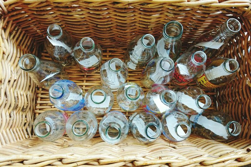 Check This Out Taking Photos Hello World Bottles Basket Glassware