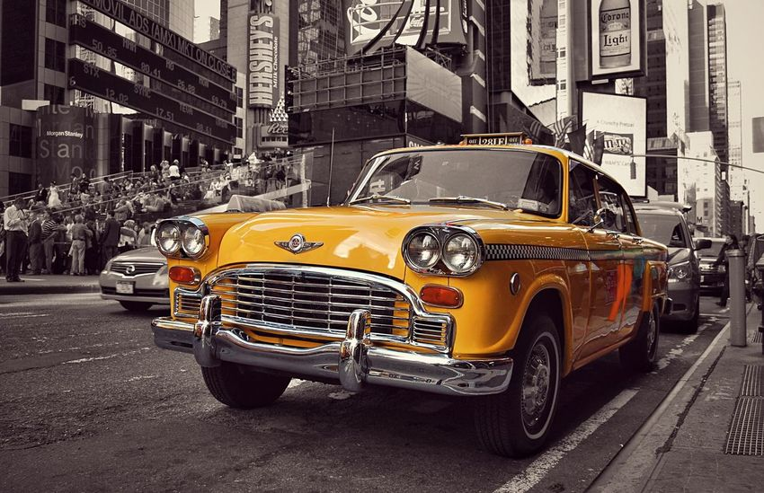 Taxi Streetphoto_color Street Streetphotography Street Photography Car Old Car Vintage Vintage Cars NYC NYC Photography NYC Street Photography NYC Street Newyork New York City New Life The Street Photographer - 2016 EyeEm Awards Eye4photography  EyeEm Best Shots EyeEm Gallery EyeEm Best Edits MeinAutomoment Battle Of The Cities The Drive Paint The Town Yellow