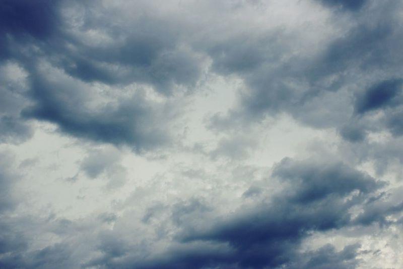 Cloudy turmoil Clouds Sky Nature