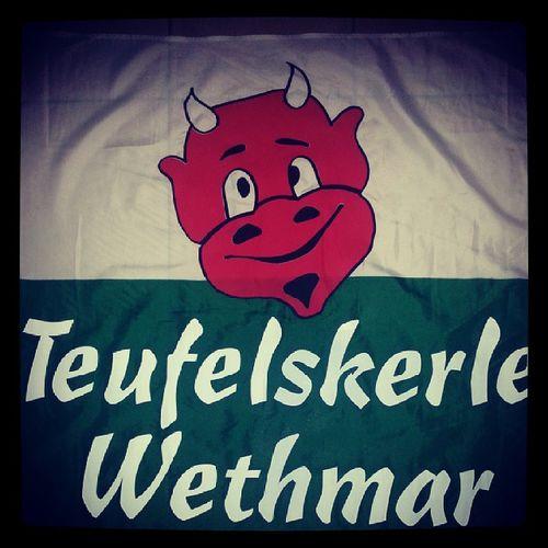 Die Fahne der Teufelskerle Wethmar :-) Tww F1JUGEND