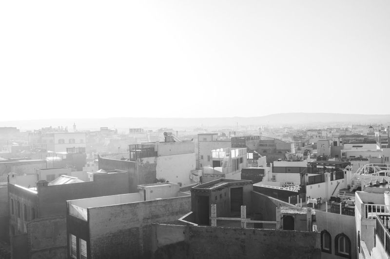 Fog in the morning on essaouira's roofs , last but not least to close the moroccan serie.✌🏻 EyeEm Best Shots - Black + White Lanscape Streetphoto_bw Black And White Blackandwhite Blackandwhite Photography Streetphotography_bw Marrakesh Landscape_Collection Morocco Fujifilm Fujifilm_xseries FUJIFILM X-T2 Travel Destinations Photojournalism Photography Streetphotographers Streetphoto EyeEm Best Shots Film Fuji Building Exterior Built Structure Architecture City Sky Clear Sky Building Cityscape City Life