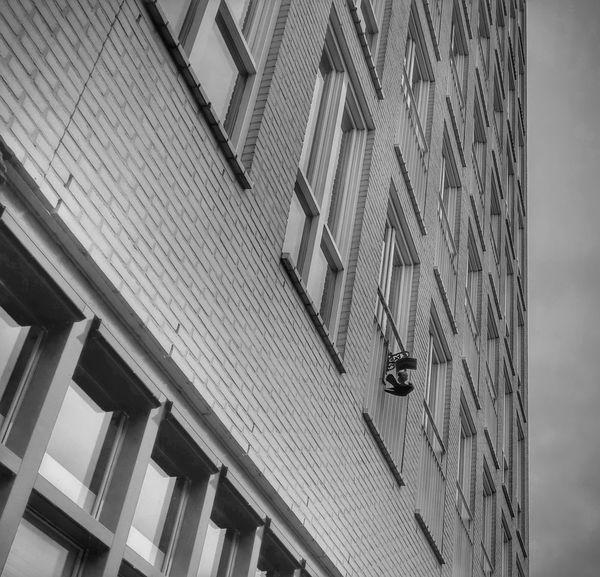 Raven Amsterdam Black&white Black And White Architecture Windows