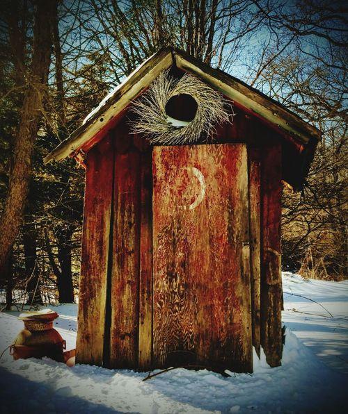 Grumman Rest Stop GottaGo Outhouse Nature EyeEmNewHere