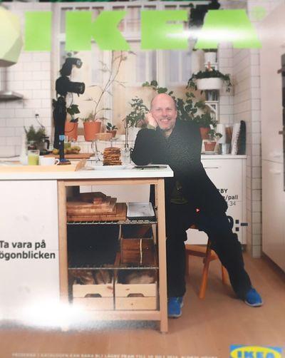 Selfportrait IKEA