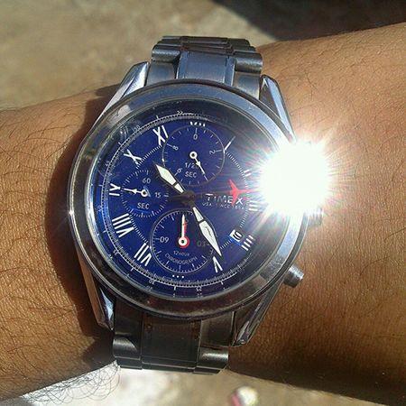 Timex Torque wrist watch timepiece Eye Em Best Shots Wristgame Hello World