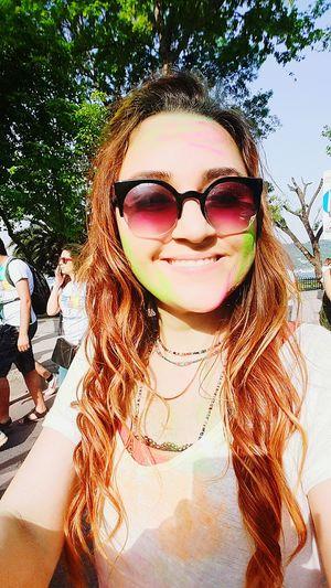 Genclikbesiktasta Colorup Enjoying Life Popular Photos Instagirl Beauty Colorskyrun Taking Photos Colorsky Hello World