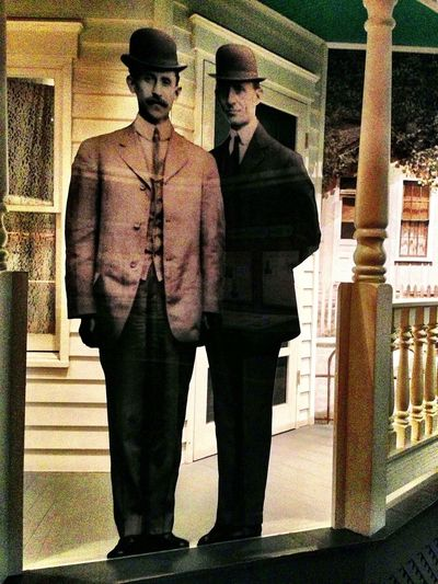 the Wright brothers Wright Brothers IPhoneography AMPt_community National Air And Space Museum