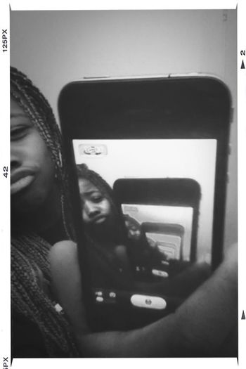 Duck Lips ♥ Big Lips Through The Mirror Me Selfie And I