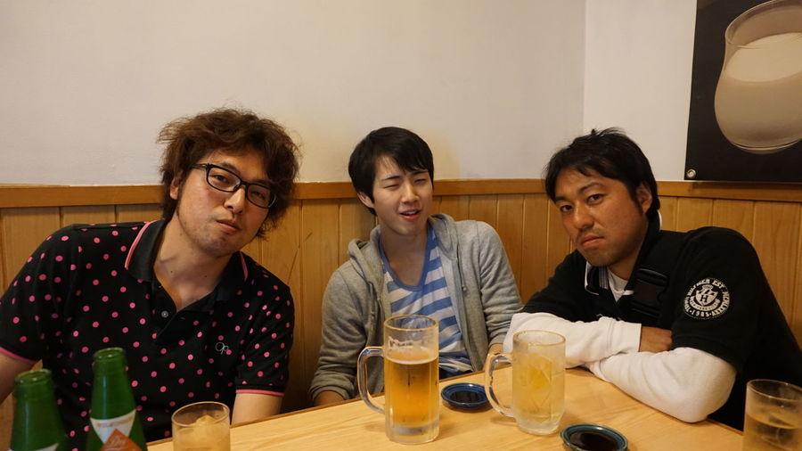 We are crazy in Japanese gyouza!!!! Japan Popular Photos Japanese Sake Japan Photography 飲み歩き