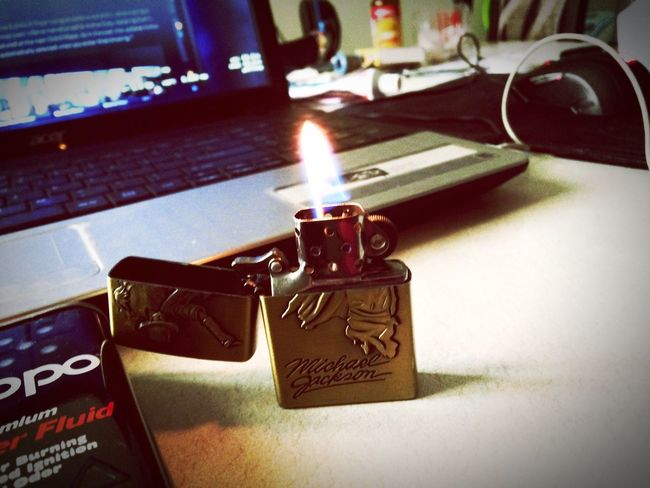 Indoors  Close-up No People Table Lighter Zippo Lighter